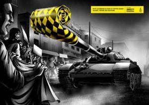 Creatividad Problemas Sociales Amnistía internacional