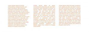 por que no justificar textos diseños 3 columnas