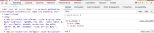 Captura de pantalla código