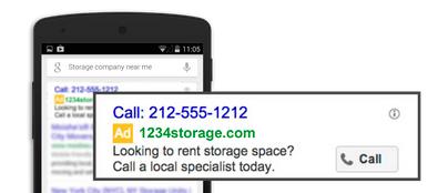 llamadas google ads