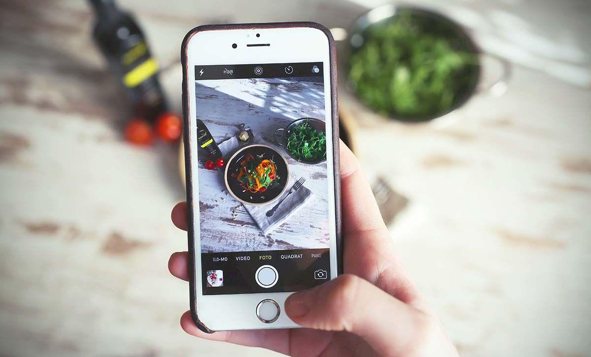 Fotografia comida instagram