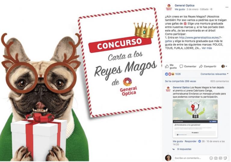 Campaña de publicidad navideña