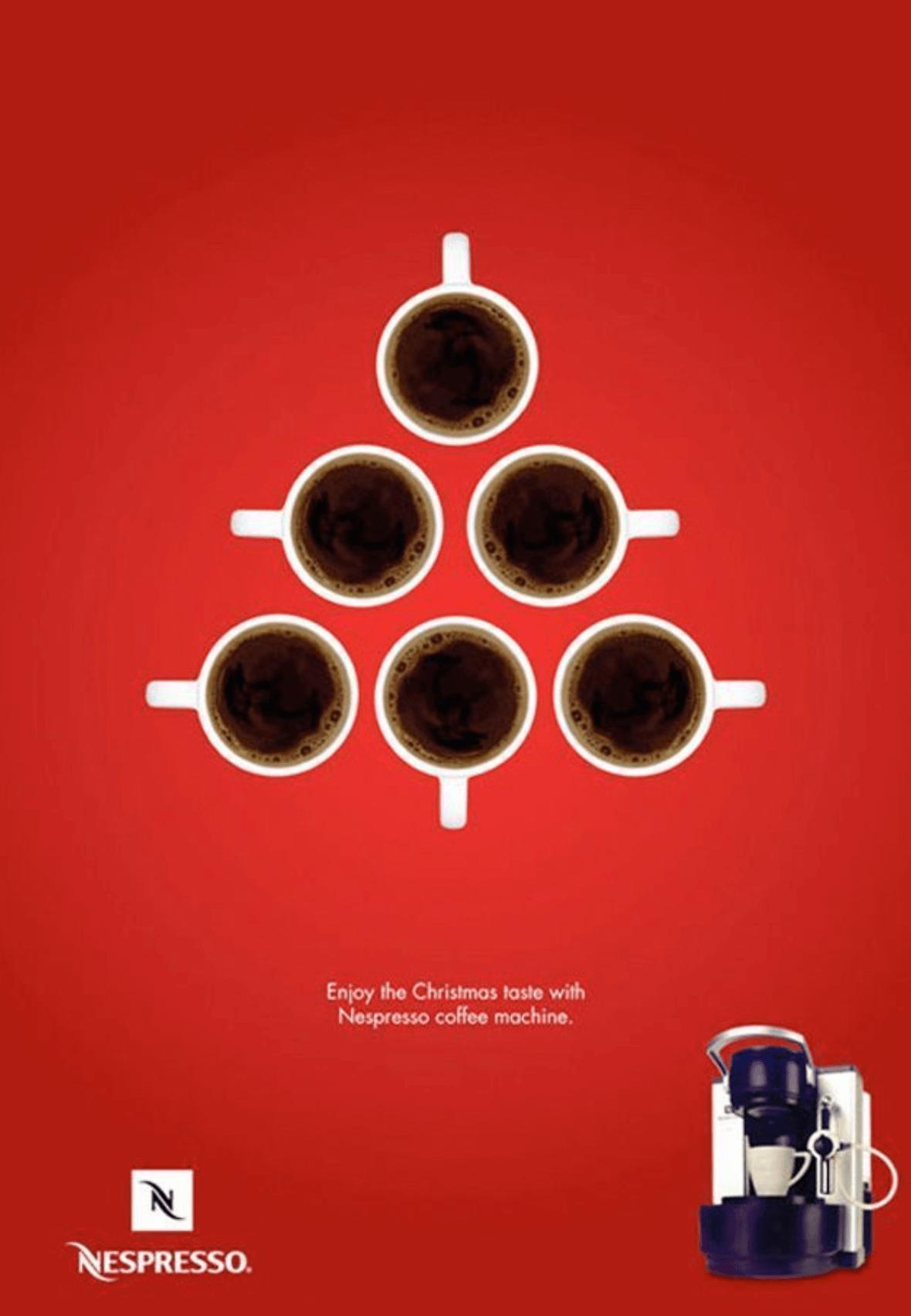 Nespresso campaña navideña