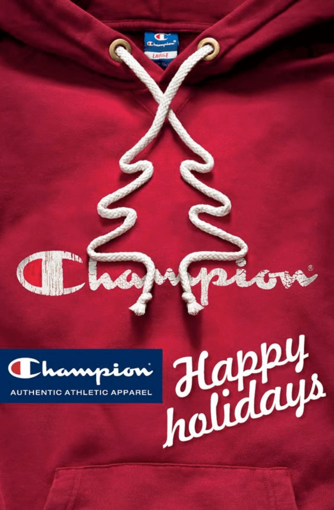 Champion campaña navideña