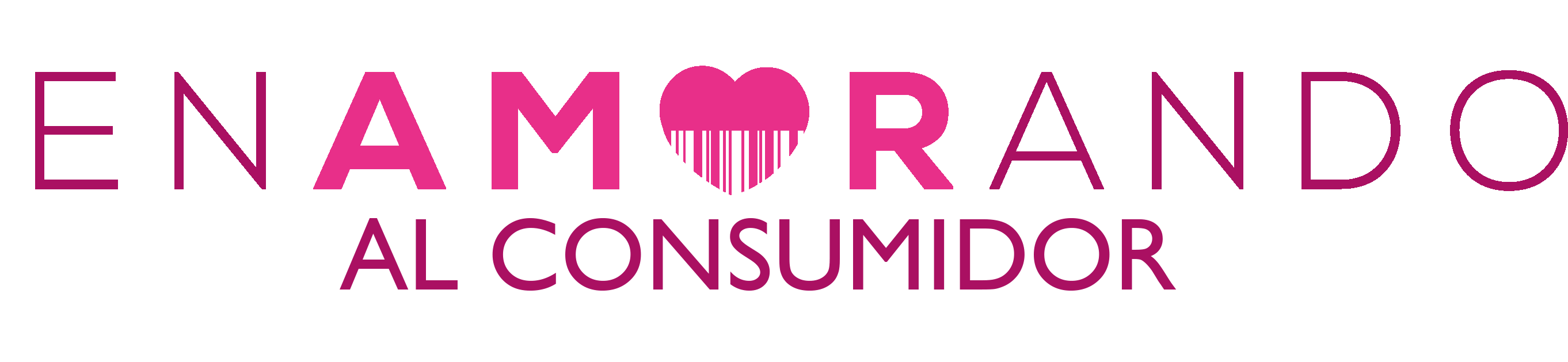 nuevo logo enamorando por distrito agencia